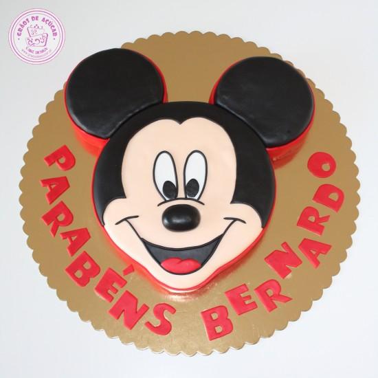 Cake Design Passo A Passo : Mickey - Graos de Ac?car - Bolos decorados - Cake Design